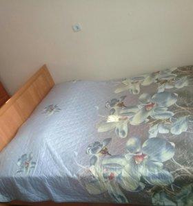 Матрац двухспальний, кровать в подарок
