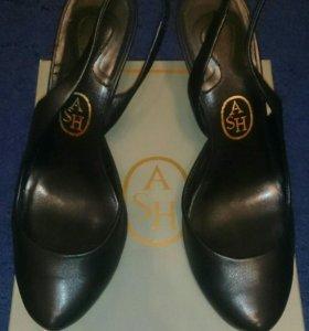 Туфли кожаные фирмы ASH
