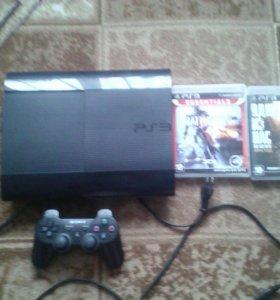 PS3 + 6 игр