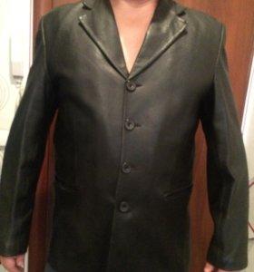 Новый кожаный пиджак