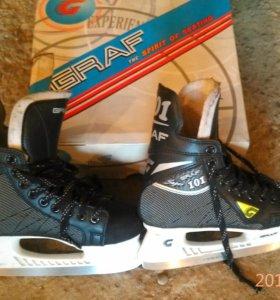 Хоккейные коньки 35 размер