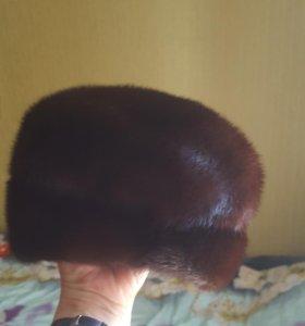 Шапка- кепка норковая