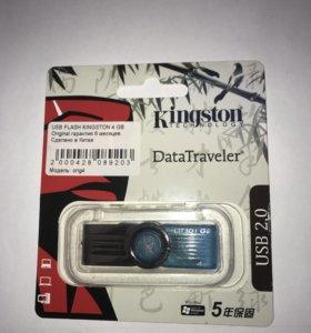 Флэш карта USB Kingston 4GB⚡️