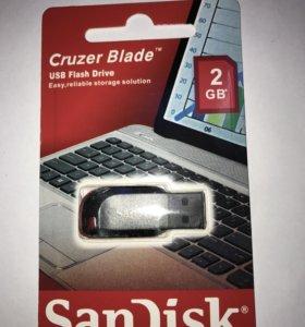 Флэш карта USB SanDisk 2GB