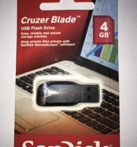Флэш карта USB SanDisk 4GB⚡️