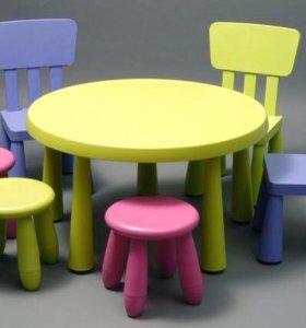 Стол ,стул и табурет Икея