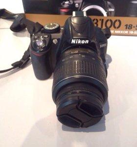 Продам фотоаппарат NIKON D3100
