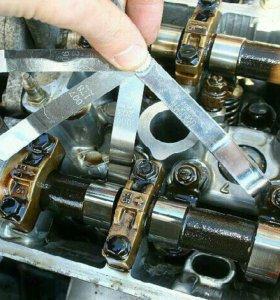 Регулировка тепловых зазоров на Hyundai Kia