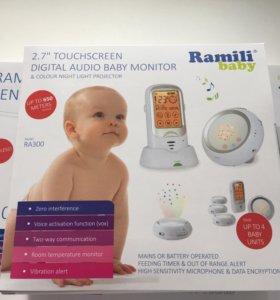 Монитор дыхания. Радионяня. Ramily baby ra300