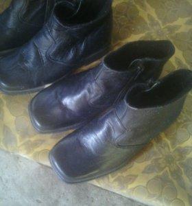 Обувь полусапожки демисезонные