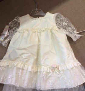 Платье новое детское