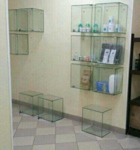 Витрина, стеклянные шкафчики