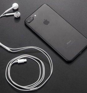 Наушники на iPhone 7
