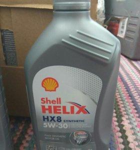 Масло Shell Helix HX8 1 литр