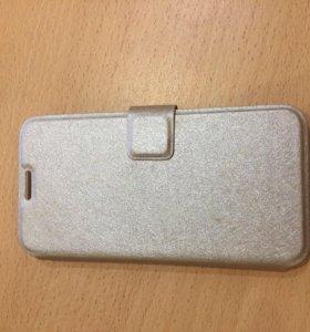 Чехол на застёжке для Samsung s6 edge