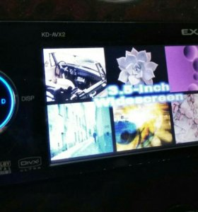 DVD-ресивер 1 DIN с ЖК JVC KD-AVX2