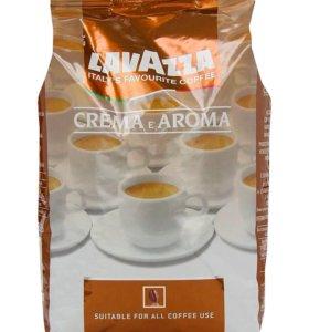 Кофе LAVAZZA Crema e Aroma 1 кг. в зёрнах