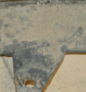 Задний бампер Фиат Пунто 176(3 дверная), 1,1л.