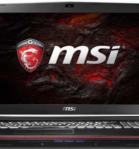 Продам новый игровой ноутбук MSI GL72 6QF i7 Skyl