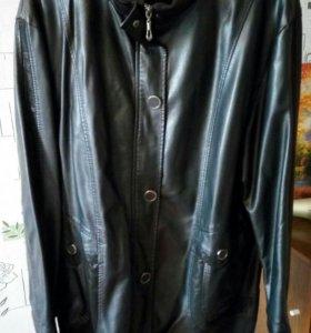 Кожзам куртка демисезонная размер 56-58