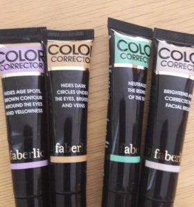 Цветной корректор для лица
