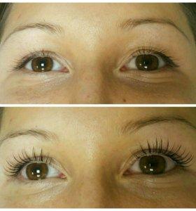 Ламинирование ресничек + Botox Lashes