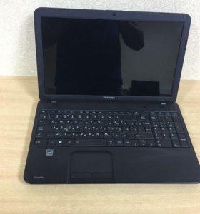 Toshiba C850 проц i5 состояние нового