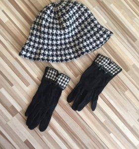 Шляпка и перчатки