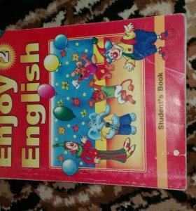 Книга по англискому для второго класса