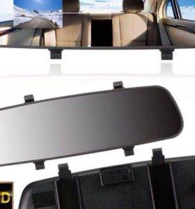 Новый видеорегистратор с зеркалом заднего вида