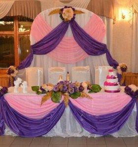 Украшения для свадебных залов машин итп