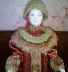 """Фарфоровая кукла"""" Юля"""".Ручная работа."""
