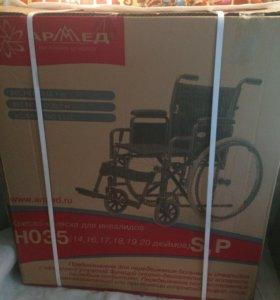 Инвалидная коляска новая в упаковке