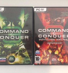 Command &Conquer: Tiberium wars; Kane's wrath.