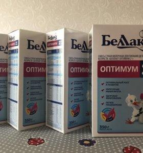 Смесь сухая молочная Беллакт оптимум 2+ (6-12мес)
