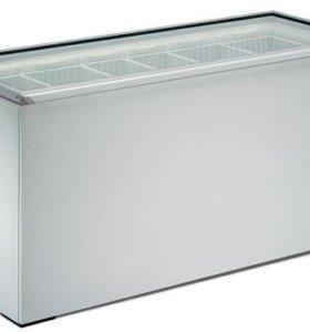 морозильный ларь со стеклянной крышкой