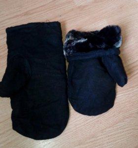 Новые рабочие рукавицы