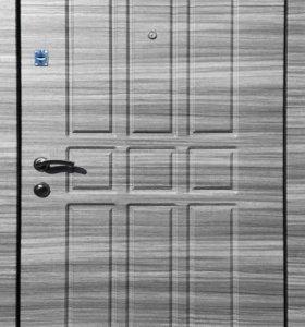 Входная дверь РОССА Gray Stone