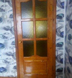 Межкомнатные двери с коробками 6 дверей .