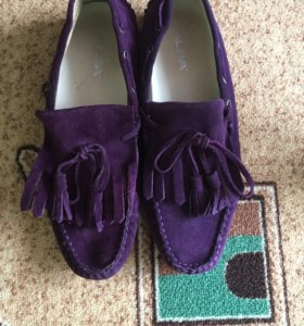Мокасины Alba замшевая мужская обувь