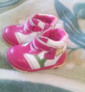 Ботиночки для маленьких модниц
