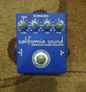 California sound distortion combo emulator