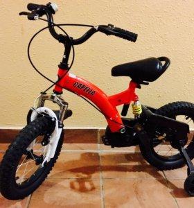 Новый велосипед Capella