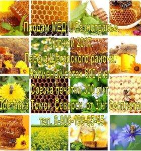 Мёд, разнотравье
