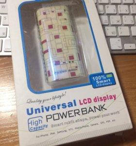 Повербанк Power Bank 5600 mAh новый