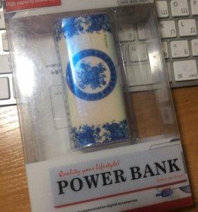 Power Bank Повербанк 5600 мАч новый