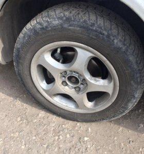 Комплект колёс 15 диски+резина лето+зима