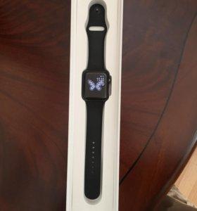 Apple Watch series 2 42 mm Space gray aluminum spo