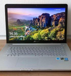 Мощный ноутбук Asus N750JK