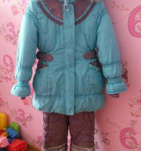Продам зимний костюм 116- 122
